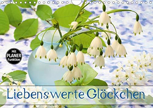 Liebenswerte Glöckchen (Wandkalender 2020 DIN A4 quer): Glockenblüten haben etwas Anrührendes (Geburtstagskalender, 14 Seiten ) (CALVENDO Natur)