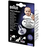 Braun ThermoScan  Lens Filters for Ear Thermometers - Pack of 40