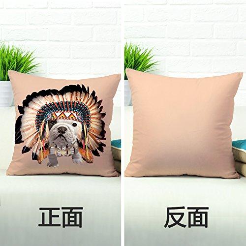 Pack de 2Lovely Dog Funda de almohada cojín para dormir cama funda...