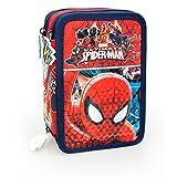 Marvel Spiderman 40224 Astuccio, 3 Scomparti, Poliestere, Multicolore