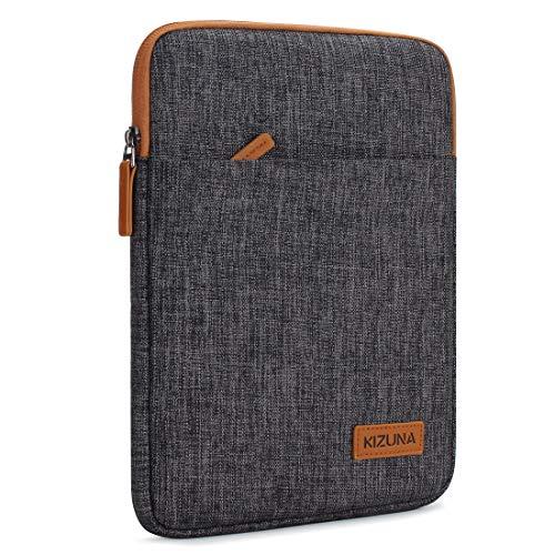 "KIZUNA iPad Pro 10.5 Hülle 10-10.1 Zoll Tablet PC Tasche Sleeve Case Laptop Bag Etui Für 11\"" iPad Pro/9.7\"" iPad 2017/10\"" Microsoft Surface Go/10.8\"" Huawei MediaPad/Samsung Galaxy Tab S4, Braun"