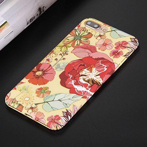 Hülle für iPhone 7 plus , Schutzhülle Für iPhone 7 Plus National Style Blumenmuster PC Schutzhülle ,hülle für iPhone 7 plus , case for iphone 7 plus ( SKU : Ip7p0844d ) Ip7p0844g