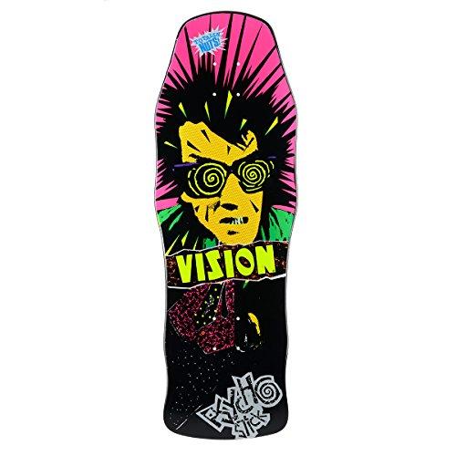 "Vision Skateboard-Brett/Deck, 25,4 x 76,2 cm, Psycho Stick Reissue, schwarz, 10\"" x 30\"""