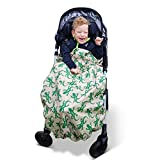 BundleBean Child Wheelchair Cosy/Special Needs Buggy Cosy - waterproof, fleece, universal fit Geckos