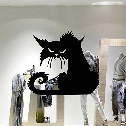 (wandaufkleber wandtattoos Ronamick Halloween Hintergrund Dekoriert Wohnzimmer Schlafzimmer Wandaufkleber Wandtattoo Wandaufkleber Sticker Wanddeko (A))