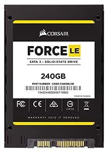 Corsair (CSSD-F240GBLEB) Force Series LE 240GB  (6Gb/s) SATA 3  TLC NAND Disque SSD