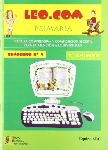 Leo.Com. Lectura Comprensiva - Cuaderno 5, 2º Edición