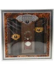 Parfum de France - PC205 - Cuba Gold - Coffret pour Homme - Eau de Toilette Vaporisateur 100 ml + Aftershave 100...