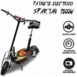 Patinete eléctrico 1200w Spartan