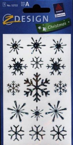 Naklejki swiateczne Z Design Christmas Platki sniegu: 52722