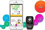 TomTom Spark 3 Cardio + Musik GPS-Fitnessuhr (Routenfunktion, 3GB Speicherplatz für Musik, Eingebauter Herzfrequenzmesser, Multisport-Modus, 24/7 Aktivitäts-Tracking) - 3