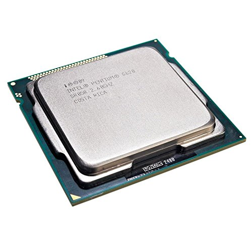 Prozessor CPU Intel Pentium G6202.6GHz 3MB 5GT/s fclga1155Dual Core sr05r Intel Dual-core 64-bit