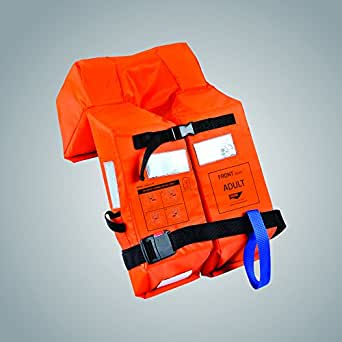 Solas Approved, SHM Life Jacket Guardian A1 with Whistle.