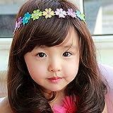 spritech (TM) Kinder Lovely stylisches flauschig Realistische gewellt lang Haar Perücke Faser Synthetische Perücke, Deep Brown, 1-4 years old