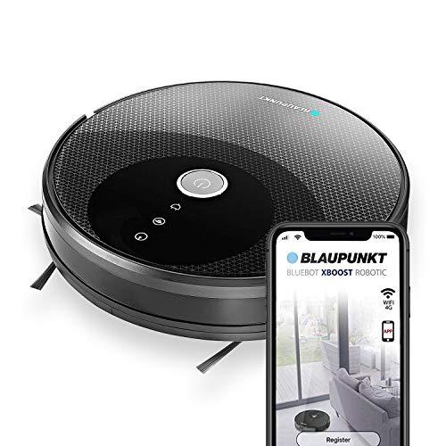 BLAUPUNKT Robot Aspirador y Fregasuelos Bluebot XBOOST ✔️ Control por APP, Bluetooth, Alexa, Google...