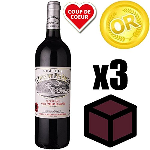 sports shoes 8f381 ae6c7 X3 Château la Tour du Pin Figeac 1998 Rouge 75cl AOC Saint-Emilion Grand  Cru Classé - Vino Tinto