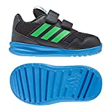 adidas Unisex-Kinder Altarun Cloudfoam Fitnessschuhe, Grau (Carbon/Verint/Azubri 000), 25 EU