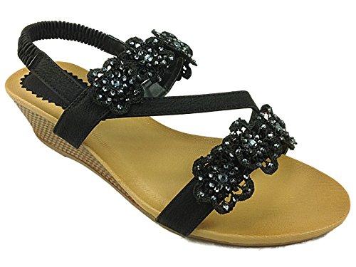 Cushion Walk - Scarpe con cinturino alla caviglia da ragazza' donna Black