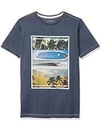 Quiksilver Heather Place To Be Camiseta, Niños, Blanco, ...