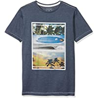Quiksilver Heather Place To Be Camiseta, Niños, Blanco, M/12