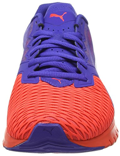 Puma Ignite Dual Wn's, Chaussures de Running Compétition Femme Rouge (Red/Blue 01)