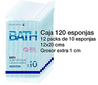 Caja con 120 esponjas