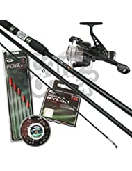 Complete Beginners Float Match Fishing Outfit Set Up Rod Reel & Tackle Bundle