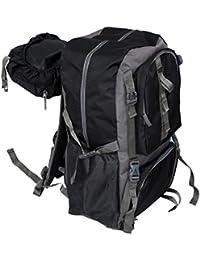 Kuber Industries™ Exclusive 60 Ltrs Dark Blue Backpack/Rucksack/Travelling Bag/Hiking Bag/Adventure Bag/Camping...