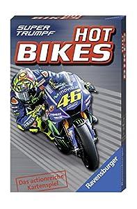 Ravensburger Hot Bikes Juego de emparejar Cartas - Juegos de Cartas (7 año(s), Juego de emparejar Cartas, 99 año(s), 59 mm, 91 mm, 60 mm)