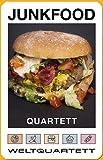 Junkfood Burger Essen Kalorien Quartett Junkfoodquartett Kartenspiel