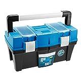 SECOTEC Werkzeugkoffer Werkzeugkiste Werkzeugbox Werkzeugkasten Werkzeug Organizer 18'