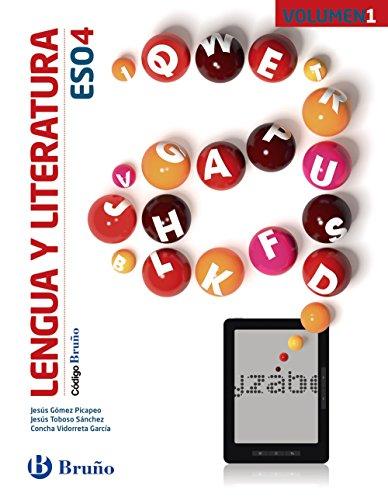 Código Bruño Lengua y Literatura 4 ESO - 3 volúmenes - 9788469613269 por Jesús Gómez Picapeo