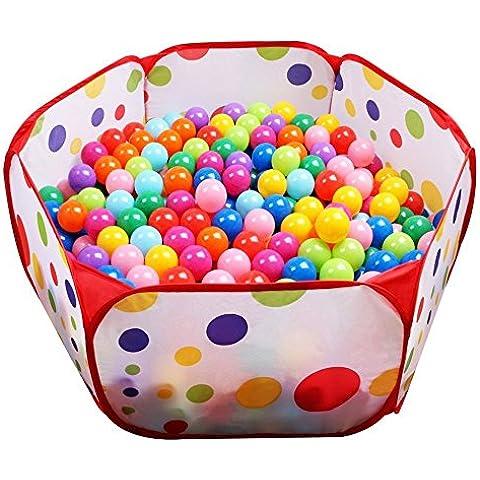 Box sfera Pit, Focusun interna ed esterna tenda del gioco all'aperto 39,4 pollici da 19,7 pollici con cerniera Borsa di stoccaggio per i più piccoli