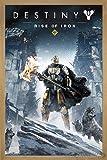 Close Up Destiny Poster Rise of Iron (66x96,5 cm) gerahmt in: Rahmen Eiche