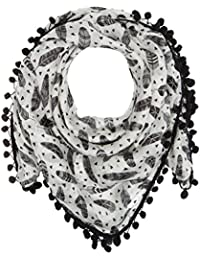 Naf Naf Uindian, Bufanda para Mujer, Blanc (Imprimé), Talla Única