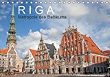 Riga - Metropole des Baltikums (Tischkalender 2019 DIN A5 quer): Lettlands Hauptstadt in einem imposanten Porträt. (Monatskalender, 14 Seiten ) (CALVENDO Orte)