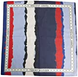 Tommy Hilfiger Damen Schal Tommy Selvage Bandana, Blau (Corporate Degrade 901), One Size