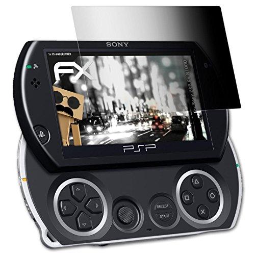 atFoliX Blickschutzfilter für Sony PSP Go (N1000) Blickschutzfolie - FX-Undercover 4-Wege Sichtschutz Displayschutzfolie
