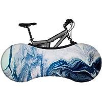 BINGFENG Inicio Bolsa de Cubierta de Rueda de Bicicleta Funda de Almacenamiento de Protector de Cadena de Neumático a Prueba de Polvo y Protección Solar para Bicicletas de Montaña A