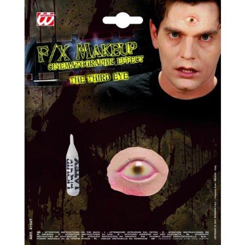 Falsche Halloween-Wunde drittes Auge