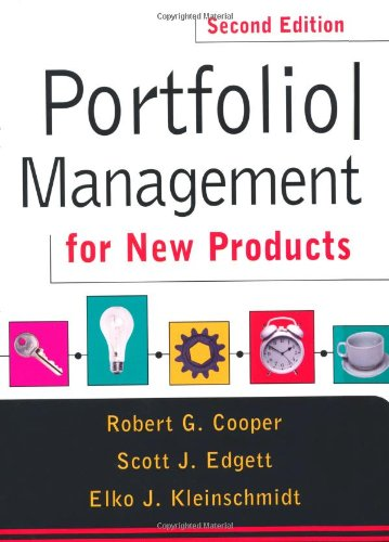Portfolio Management For New Products: Second Edition por Elko Kleinschmidt