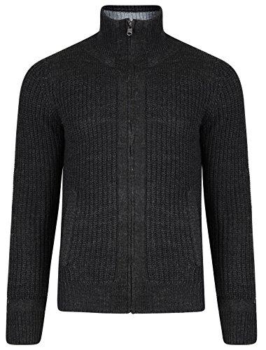 Kensington Eastside Herren Pullover Charcoal Marl