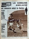 MIROIR SPRINT [No 873] du 25/02/1963 - LA SEMAINE ANGLAISE MAL COMMENCEE MALGRE LES BONIFACE - RUGBY - ROBERT BARRAN - FOOT - FRANCOIS THEBAUD - DOMENE FAIT DES RAVAGES EN COUPE