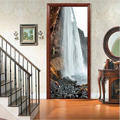Hause Wohnzimmer Schlafzimmer dekor tür Fliesen küche kühlschrank Aufkleber wandbild 90x200 cm ()