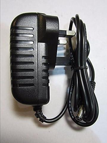 9V 300mA AC-DC Adaptor Power Supply - Negative Centre Polarity Morley WahWah Wah