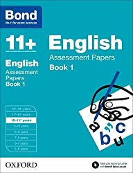 Bond 11+: English Assessment Papers: 10-11+ years Book 1