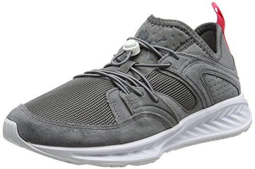 Puma Blaze Ignite Plus, Sneakers Basses Mixte Adulte Gris (Quiet Shade-bright Plasma-puma White 02)