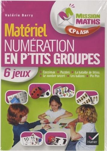 Mission Maths CP, Numration en p'tits groupes - Matriel