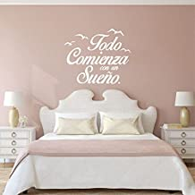 Vinilos decorativos frases for Vinilos para pared habitacion matrimonio
