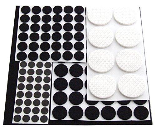 Schneidebrettchen-Einfassung Am-Tech Möbelgleiter (125 Stücke) Pads - Alute Cleva Edition